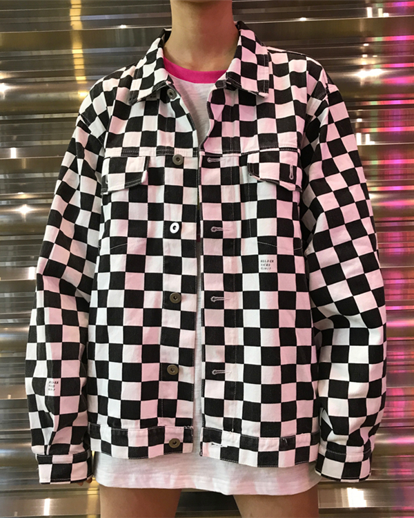 Vices Checker Jacket - MAGIC PERIOD