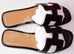 Hermes Womens Black Oran Sandal Slipper 36 Shoes - New - MAISON de LUXE - 3