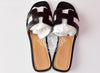 Hermes Womens Black Oran Sandal Slipper 36 Shoes - New - MAISON de LUXE - 2