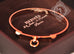 Hermes Rose Gold Collier de Chien Bracelet CDC Bangle Cuff SH - New - MAISON de LUXE - 10