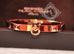 Hermes Rose Gold Collier de Chien Bracelet CDC Bangle Cuff SH - New - MAISON de LUXE - 5