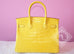 Hermes Mimosa Yellow GHW Crocodile Alligator Birkin 30 Handbag - New - MAISON de LUXE - 4