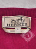 Hermes Men's Rose Indien Gray Cashmere Wool Sweater L - New - MAISON de LUXE - 4