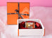 Hermes Rose Jaipur Rouge Casaque 42 mm Constance Gold H Buckle 90 Wide Belt Kit - New - MAISON de LUXE - 1