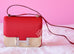 Hermes Rouge Casaque Red Epsom Constance MM 24/25 Handbag - New - MAISON de LUXE - 1