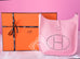 Hermes Pink Rose Sakura Evelyne III Pm Messenger Bag - New - MAISON de LUXE - 1