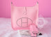 Hermes Pink Rose Sakura Evelyne III Pm Messenger Bag - New - MAISON de LUXE - 3