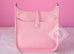 Hermes Pink Rose Sakura Evelyne III Pm Messenger Bag - New - MAISON de LUXE - 4