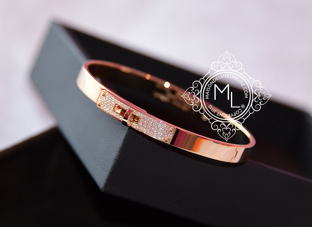 bangles de diamond beers micropave pave micropav rose gold bracelet bangle