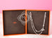 Hermes 925 Solid Silver Farandole 160 Long Necklace - New - MAISON de LUXE - 2