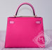 Hermes Rose Tyrien 5P Pink Sellier Kelly 28 Handbag - New - MAISON de LUXE - 7