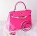 Hermes Rose Tyrien 5P Pink Sellier Kelly 28 Handbag - New - MAISON de LUXE - 5