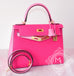 Hermes Rose Tyrien 5P Pink Sellier Kelly 28 Handbag - New - MAISON de LUXE - 4