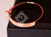 Hermes Rose Gold 4 Diamond Kelly Bracelet Bangle Cuff SH - New - MAISON de LUXE - 10