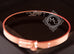 Hermes Rose Gold 4 Diamond Kelly Bracelet Bangle Cuff SH - New - MAISON de LUXE - 12
