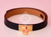 Hermes Noir Black Leather Kelly Double Tour Bracelet S - New - MAISON de LUXE - 2
