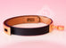 Hermes Noir Black Leather Kelly Double Tour Bracelet S - New - MAISON de LUXE - 8