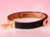 Hermes Noir Black Leather Kelly Double Tour Bracelet S - New - MAISON de LUXE - 9
