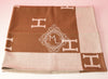 Hermes Large Camel Wool Cashmere H Avalon Blanket - New - MAISON de LUXE - 4