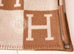 Hermes Large Camel Wool Cashmere H Avalon Blanket - New - MAISON de LUXE - 6