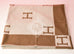 Hermes Large Camel Wool Cashmere H Avalon Blanket - New - MAISON de LUXE - 5