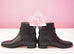 Hermes Womens Black Néo Kelly Boots 37 Shoes