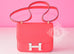 Hermes Rose Jaipur Red Epsom Constance MM 24/25 Handbag - New - MAISON de LUXE - 2