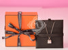 Hermes Rose Gold Diamond Kelly Pendant Necklace - New - MAISON de LUXE - 2