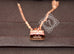 Hermes Rose Gold Diamond Kelly Pendant Necklace - New - MAISON de LUXE - 7