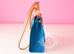 Hermes Blue Izmir Canvas Zip Herbag 31 Pm Handbag - New - MAISON de LUXE - 4