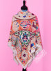 Hermes Cashmere 140 GM Collections Imperiales Gris Perle Rose Pink Shawl Scarf - New - MAISON de LUXE - 9