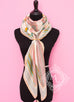 Hermes Cashmere 140 GM Blanc Rose Duo d'Etriers Shawl Scarf - New
