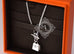 Hermes 925 Solid Silver Kelly Charm Pendant Necklace - New - MAISON de LUXE - 6