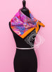 Hermes Potiron Twill Silk 90 cm Flamingo Party Scarf - New