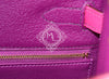 Hermes 5P Pink Rose Shocking Anemone Sellier Chevre Kelly 28 Handbag - New - MAISON de LUXE - 12
