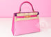 Hermes 5P Pink Rose Shocking Anemone Sellier Chevre Kelly 28 Handbag - New - MAISON de LUXE - 1