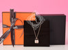 Hermes Rose Gold Diamond Constance Pendant Necklace - New - MAISON de LUXE - 2