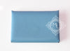 Hermes Blue Epsom Calvi Card Case Holder - New - MAISON de LUXE - 2