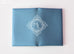 Hermes Blue Epsom Calvi Card Case Holder - New - MAISON de LUXE - 3
