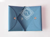 Hermes Blue Epsom Calvi Card Case Holder - New - MAISON de LUXE - 4