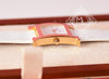 Hermes Gold H Hour Watch PM White Strap Bracelet - New - MAISON de LUXE - 6