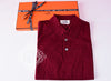 Hermes Men's Sports Rouge H Red Polo Shirt Medium - New - MAISON de LUXE - 1