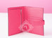 Rose Lipstick Pink Compact Bearn Wallet Clutch