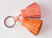 Hermes Orange Crevette Carmen Duo Keychain Bag Charm - New - MAISON de LUXE - 3