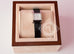 Hermes Diamond H Hour Watch PM Black Crocodile Strap - New - MAISON de LUXE - 2