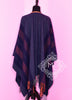Hermes Blue Grey Rocabar Poncho Cape Shawl Top - New - MAISON de LUXE - 3