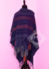 Hermes Blue Grey Rocabar Poncho Cape Shawl Top - New - MAISON de LUXE - 4