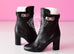 Hermes Womens Black Joueuse Kelly Boots 37 Shoes - New - MAISON de LUXE - 2