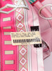 Hermes Rose Pink Fuchsia Colliers de Chiens Silk Maxi Twilly Shawl Scarf Wrap - New - MAISON de LUXE - 3