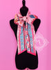 Hermes Rose Pink Fuchsia Colliers de Chiens Silk Maxi Twilly Shawl Scarf Wrap - New - MAISON de LUXE - 1